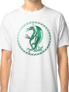 Green Celtic Dragon Classic T-Shirt