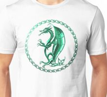 Green Celtic Dragon Unisex T-Shirt