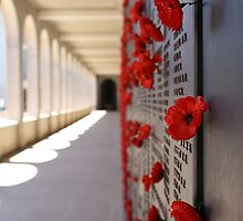 Wall Of Rememberance by Sprinkla