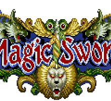 Magic Sword by Lupianwolf