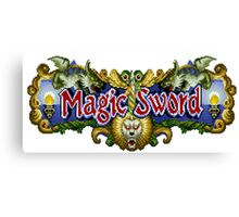 Magic Sword Canvas Print