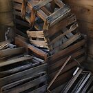 Wooden Crates by Kenton Elliott