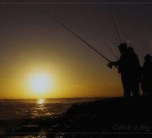 catch a big one by Lebogang Manganye