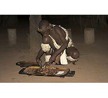 Zulu Feast Photographic Print