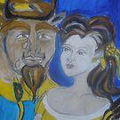 Beauty & The Beast by Anthea  Slade