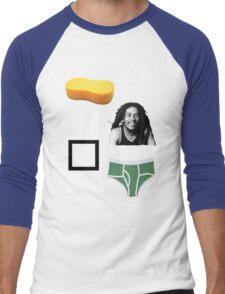 Sponge Bob Square Pants Men's Baseball ¾ T-Shirt