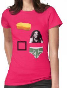 Sponge Bob Square Pants Womens Fitted T-Shirt