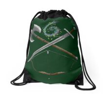 Dungeons & Dragons Weapons Drawstring Bag