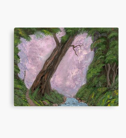 A Forest's Heart Canvas Print
