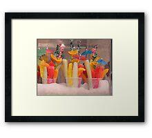 Festive Fruit Framed Print