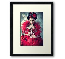 Red Queen Framed Print