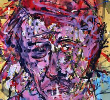 Sad Vincent ( Homage to Vincent VanGogh )  by Richard  Tuvey