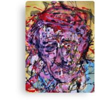 Sad Vincent ( Homage to Vincent VanGogh )  Canvas Print
