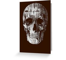 Ripped Up Skull Greeting Card