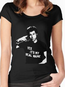 Chevy Chase Women's Fitted Scoop T-Shirt