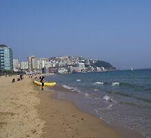Haeundae Beach - Busan, Korea by eucumbene