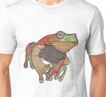 We all know Frogs go La-di-da-di-da! Unisex T-Shirt