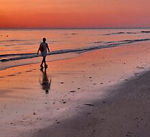 Sunset Walk by Adri  Padmos