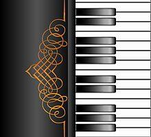 Piano Keyboard by Packrat
