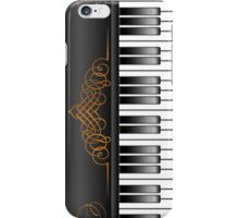 Piano Keyboard iPhone Case/Skin