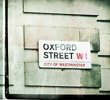 oxford street by Violet Gray