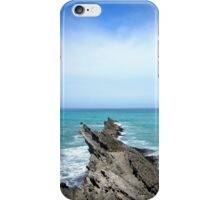 Rocks at Cape Palliser, New Zealand iPhone Case/Skin