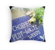 Compost Rules Throw Pillow