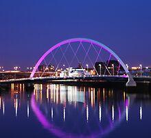 West of Scotland at Night  by clara  caulfield