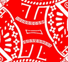 QUEEN OF DIAMONDS-RED Sticker