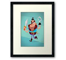 Captain Swork Framed Print