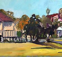 Windsor landscape by Paul  Milburn