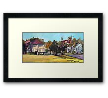 Windsor landscape Framed Print
