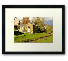 By The Beck Framed Print