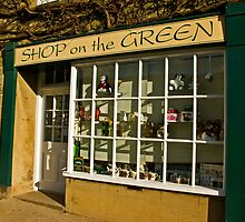 Shop on the Green by Trevor Kersley