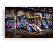 Sydney Trams 2 Canvas Print