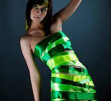 :: Green ribbons :: IV by Aleksandra Navetnaya