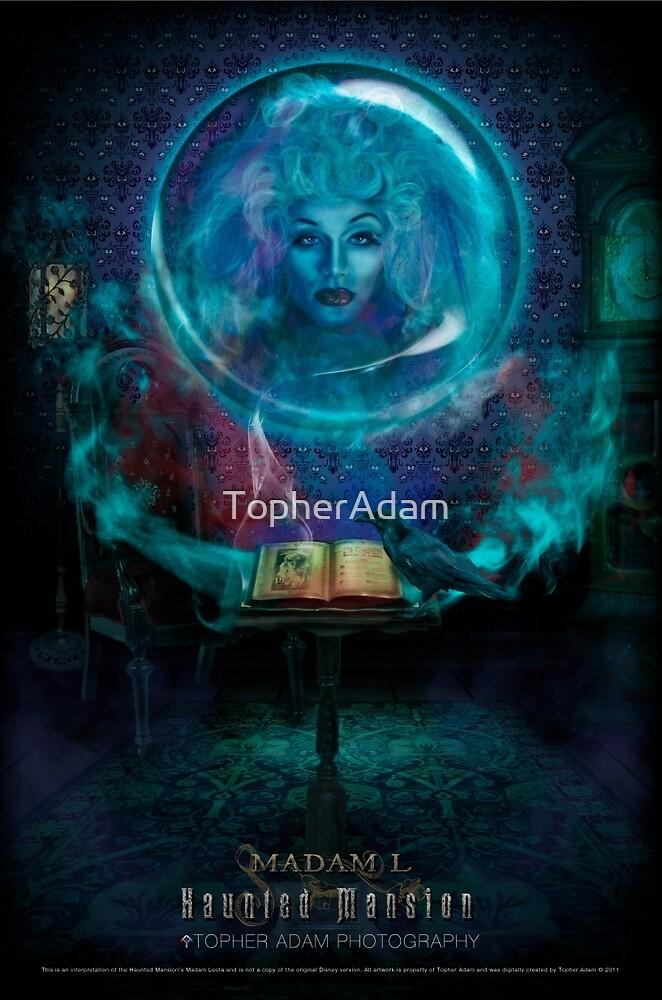 Madam L, Haunted Mansion Series by Topher Adam The Dark Noveler by TopherAdam