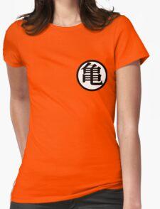 Dragon Ball Z - Goku's Shirt Front Womens Fitted T-Shirt