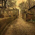 The Parsonage and School House  by Irene  Burdell