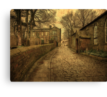The Parsonage and School House  Canvas Print