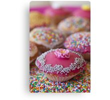 Colourful Cup Cakes Canvas Print