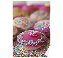 Colourful Cup Cakes Poster