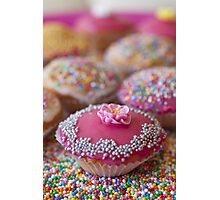 Colourful Cup Cakes Photographic Print