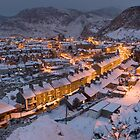 Blaenau Ffestiniog in the grip of winter  by Rory Trappe