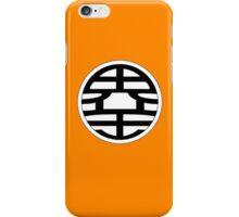 Dragon Ball Z - Goku's Shirt Back iPhone Case/Skin