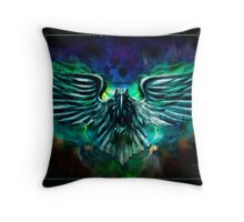 The Cowards Way: Raven, The Haunted Mansion Series  Throw Pillow