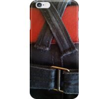 Fancy jeans, red belt iPhone Case/Skin