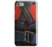 Jeans & red belt iPhone Case/Skin