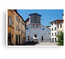 Postcard from Lucca Canvas Print