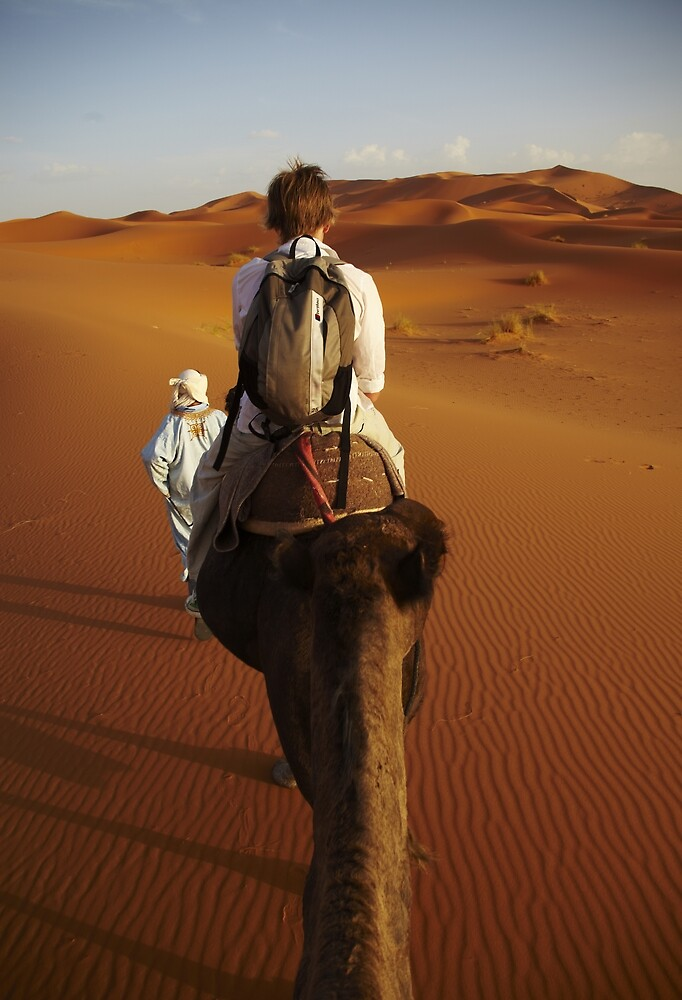 Erg Chebbi, camel trip by citrineblue